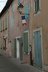 French flag. Gaveson Provence France. 2016 2010s