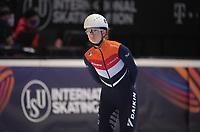 SPEEDSKATING: DORDRECHT: 06-03-2021, ISU World Short Track Speedskating Championships, SF 1500m Ladies, Selma Poutsma (NED), ©photo Martin de Jong