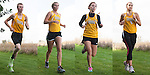 The 2014 Tuscola Warrior Cross Country Seniors. From left are Eric Ponder, Amber Tabeling, Michelle VanCleave, and Maria Meyer.