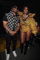 NEW YORK, NY- SEPTEMBER 14: Nelly And Remy Ma pictured at Fat Joe And Ja Rule Verzuz Battle at The Hulu Theater at Madison Square Garden in New York City on September 14, 2021. Credit: Walik Goshorn/MediaPunch