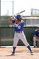 Jose Bonilla, Kansas City Royals 2010 minor league spring training..Photo by:  Bill Mitchell/Four Seam Images.