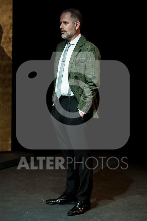 "Orancio Ortega during the theater play of ""Addio del Passato"" at Fernan Gomez Theater in Madrid. March 15, 2017. (ALTERPHOTOS/Borja B.Hojas)"