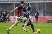 milan-inter - milano 21 febbraio 2021 - 23° giornata Campionato Serie A - nella foto: