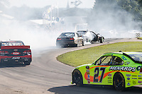 The Drift cars entertain spectators at Goodwood Festival of Speed 2016 at Goodwood, Chichester, England on 24 June 2016. Photo by David Horn / PRiME Media Images