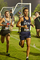 SAN ANTONIO, TX - SEPTEMBER 3, 2021: The University of Texas at San Antonio Roadrunners compete in the University of the Incarnate Word XC Twilight Cross Country Meet at the Classics Elite Soccer Academy (Photo by Jeff Huehn).