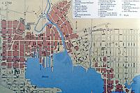 Utopia:  Baltimore map, 1790.
