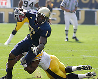 September 20, 2008: Pitt wide receiver Cedric McGee. The Pitt Panthers defeated the Iowa Hawkeyes 21-20 on September 20, 2008 at Heinz Field, Pittsburgh, Pennsylvania.