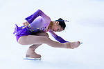Mako Yamashita of Japan competes in Junior Ladies group during the Asian Open Figure Skating Trophy 2017 on August 05, 2017 in Hong Kong, China. Photo by Marcio Rodrigo Machado / Power Sport Images