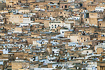 Rooftops of Fes, Morocco