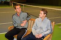17-11-10, Tennis, Rotterdam, Thiemo de Bakker (NED)