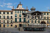 Europe, Espagne, Navarre, Tudela: Plaza Nueva or Plaza de los Fueros   // Europe, Spain, Navarre, Tudela: Plaza Nueva or Plaza de los Fueros