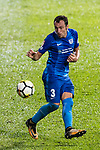 SC Kitchee Defender Daniel Cancela Rodriguez in action during the Community Cup match between Kitchee and Eastern Long Lions at Mong Kok Stadium on September 23, 2017 in Hong Kong, China. Photo by Marcio Rodrigo Machado / Power Sport Images
