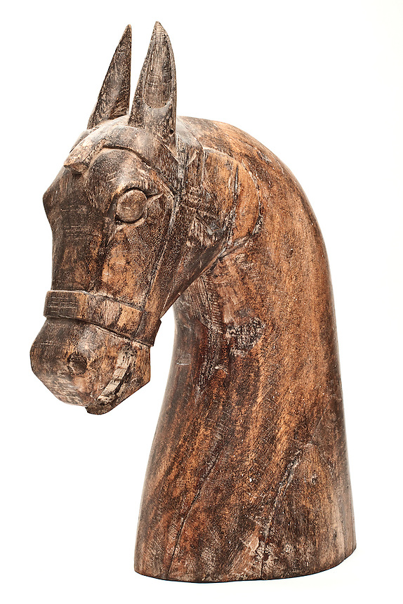 You never know when you mght be needing a carved horses head. Picked up in Cochin, Kerala