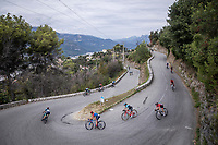 cornering <br /> <br /> 7th La Course by Le Tour de France 2020<br /> 1 day race from Nice to Nice 96km<br /> ©kramon