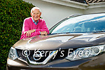 Customer Pat Moriarty, Randles brothers, Nissan dealers in Killarney.