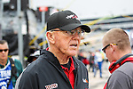 Former coach, Joe Gibbs, in action before the NASCAR AAA Texas 500 race at Texas Motor Speedway in Fort Worth,Texas.