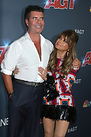 "LOS ANGELES - SEP 18:  Simon COwell, Paula Abdul at the ""America's Got Talent"" Season 14 Finale Red Carpet at the Dolby Theater on September 18, 2019 in Los Angeles, CA"