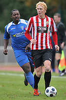 Duran Reynolds in action for Hornchurch - AFC Hornchurch vs Bishop's Stortford - FA Trophy 3rd Qualifying Round Football at The Stadium, Upminster Bridge, Essex - 10/11/12 - MANDATORY CREDIT: Gavin Ellis/TGSPHOTO - Self billing applies where appropriate - 0845 094 6026 - contact@tgsphoto.co.uk - NO UNPAID USE