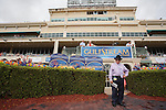March 29, 2014: A celebratory mood and anticipation builds as fans take in the scene on Florida Derby day at Gulfstream Park in Hallandale Beach (FL). Arron Haggart/ESW/CSM