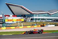 18th July 2021; Silverstone Circuit, Silverstone, Northamptonshire, England; F2 British Grand Prix, Race Day;  06 Daruvala Jehan (ind), Carlin, Dallara F2