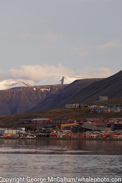 Longyearbyen on Spitzbergen 900km from the North Pole