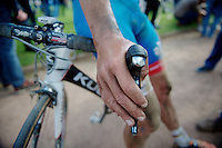post-race hands<br /> <br /> Paris-Roubaix 2014