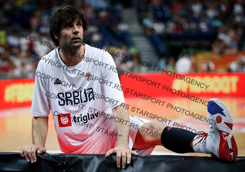 Kosarka FIBA Olympic Basketball Qualifying Tournament-FINAL<br /> Serbia v Puerto Rico<br /> Milos Teodosic<br /> Beograd, 09.07.2016.<br /> foto: Srdjan Stevanovic/Starsportphoto©