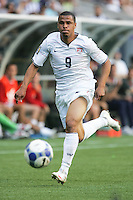Charlie Davies chases down the ball. USA defeated Grenada 4-0 during the First Round of the 2009 CONCACAF Gold Cup at Qwest Field in Seattle, Washington on July 4, 2009.