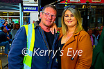 Derek Berrill and Amy Diggin (Tralee) at An Chearnóg o