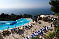 Italien, Capri, Hotel Caesar Augustus in Anacapri, Pool