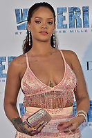 Rihanna attends Valerian and the City of a Thousand Planets Paris Premiere at La Cite Du Cinema on July 25, 2017 in Saint-Denis, France.