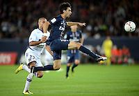 But Javier PASTORE (psg) .Parigi 17/9/2012.Football Calcio 2012/2013 Ligue 1.Psg Vs Tolosa.Foto Anthony Bibard / Panoramic / Insidefoto.ITALY ONLY