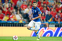 Italy's Antonio Candreva during FIFA World Cup 2018 Qualifying Round match. September 2,2017.(ALTERPHOTOS/Acero)