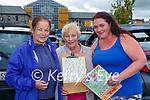 Margaret O'Connor, Ann McGillicuddy and Karen McAulliffe-Hurley enjoying the St Pauls BC drive in bingo in Killarney Sunday evening