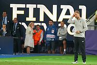 Juergen KLOPP, Trainer Liverpool ,  <br /> REAL MADRID - FC LIVERPOOL<br /> Football UEFA Champions League, Finale, Kiew, Ukraine, May 26, 2018<br /> CL Season 2017 2018<br />  <br />  *** Local Caption *** © pixathlon<br /> Contact: +49-40-22 63 02 60 , info@pixathlon.de