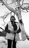 FILE PHOTO -  Tex Lecor en 1976 (date inconnue)<br /> <br /> PHOTO :  Andre Boucher<br /> - Agence Quebec Presse<br /> <br /> NOTE : editorial use only, no cropping - ne pas recadrer l'image
