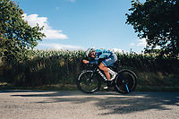 6th October 2021 Womens Cycling Tour, Stage 3. Individual Time Trial; Atherstone to Atherstone. Chloe Hosking.