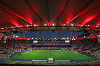 11th July 2021; Estádio Maracanã, Rio de Janeiro, Brazil. Brazil A_League football, Flamengo versus Chapecoense;  View of Estádio Maracanã