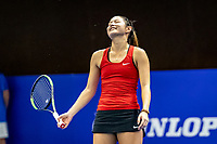 Alphen aan den Rijn, Netherlands, December 22, 2019, TV Nieuwe Sloot,  NK Tennis, Final womans single: Arianne Hartono (NED)<br /> Photo: www.tennisimages.com/Henk Koster