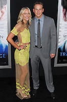 """WESTWOOD, LOS ANGELES, CA, USA - APRIL 10: Cynthia Daniel, Cole Hauser at the Los Angeles Premiere Of Warner Bros. Pictures And Alcon Entertainment's """"Transcendence"""" held at Regency Village Theatre on April 10, 2014 in Westwood, Los Angeles, California, United States. (Photo by Xavier Collin/Celebrity Monitor)"""