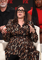"""PASADENA, CA - JANUARY 9: Executive Producer Stacey Sher attends the panel for """"Mrs. America"""" during the FX Networks presentation at the 2020 TCA Winter Press Tour at the Langham Huntington on January 9, 2020 in Pasadena, California. (Photo by Frank Micelotta/FX Networks/PictureGroup)"""