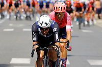 2nd July 2021; Le Creusot, France;  CAMPENAERTS Victor (BEL) of TEAM QHUBEKA ASSOS during stage 7 of the 108th edition of the 2021 Tour de France cycling race, a stage of 249,1 kms between Vierzon and Le Creusot