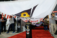 Harrison, NJ - Wednesday Feb. 22, 2017: Ball, procession prior to a Scotiabank CONCACAF Champions League quarterfinal match between the New York Red Bulls and the Vancouver Whitecaps FC at Red Bull Arena.