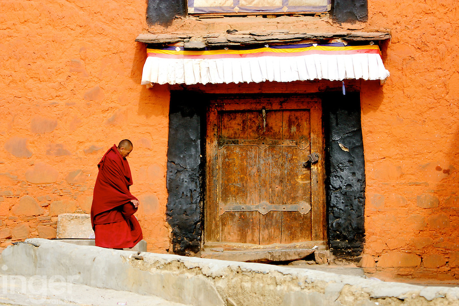 Tashilunpho Monastery in Shigatse, Tibet
