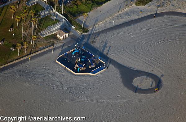 aerial photograph Huntington Beach All Inclusive Playground, Orange County, California