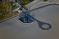 aerial photograph Huntington Beach All Inclusive Playground, Orange County, California