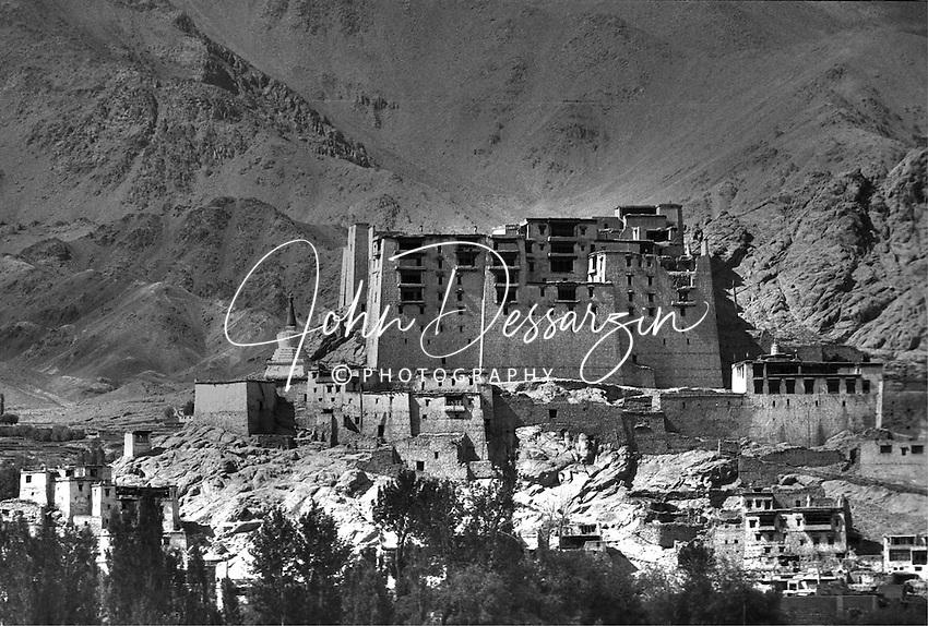 Leh Palace Now in Ruins Ladakh Jammu Kashmir India