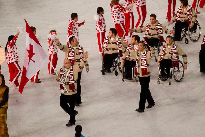 Jean Labonte, Vancouver 2010.<br /> Highlights from the Opening Ceremony // Faits saillants de la cérémonie d'ouverture. 03/12/2010.