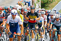 14th July 2021, Muret, France;  VAN AERT Wout (BEL) of JUMBO-VISMA during stage 17 of the 108th edition of the 2021 Tour de France cycling race, a stage of 178,4 kms between Muret and Saint-Lary-Soulan.