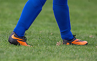 Esite Wilson of Laurel Park Vipers socks & boots during the Thames Valley Counties Women's Football League (TVCWFL) match between Flackwell Heath Ladies and Laurel Park Vipers at Wilks Park, Blackwell Heath, England on 11 October 2015. Photo by Andy Rowland.